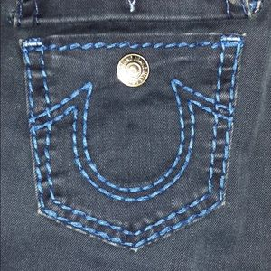 Blue True Religion Skinny Jeans